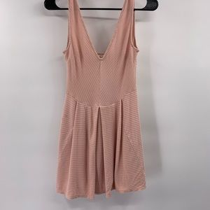 silence + noise light pink dress